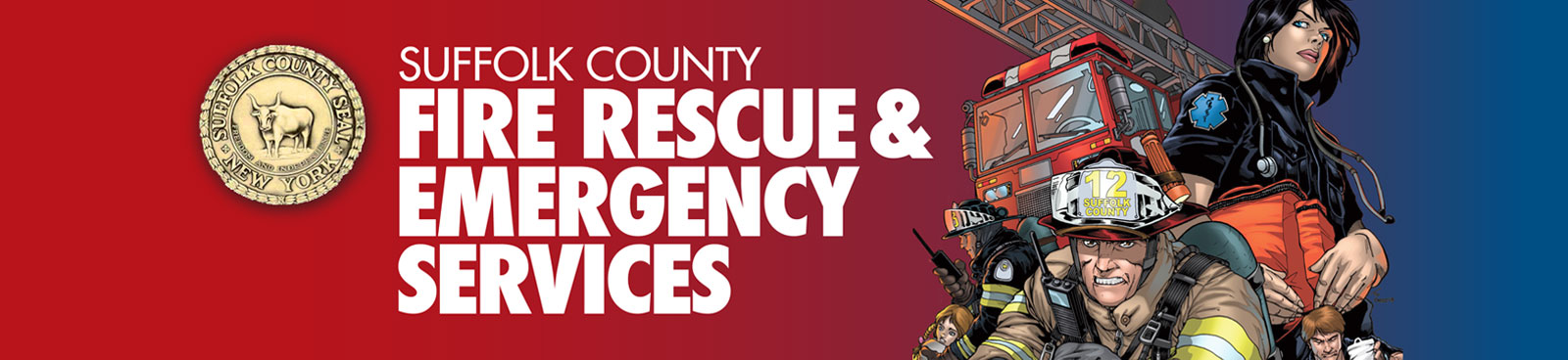 Suffolk County Fire Rescue & Emergency Service Header